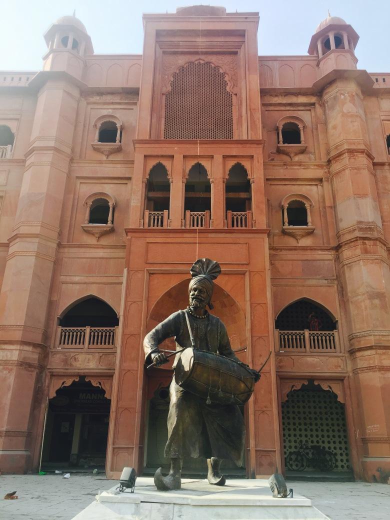 punjab folk dance sculpture
