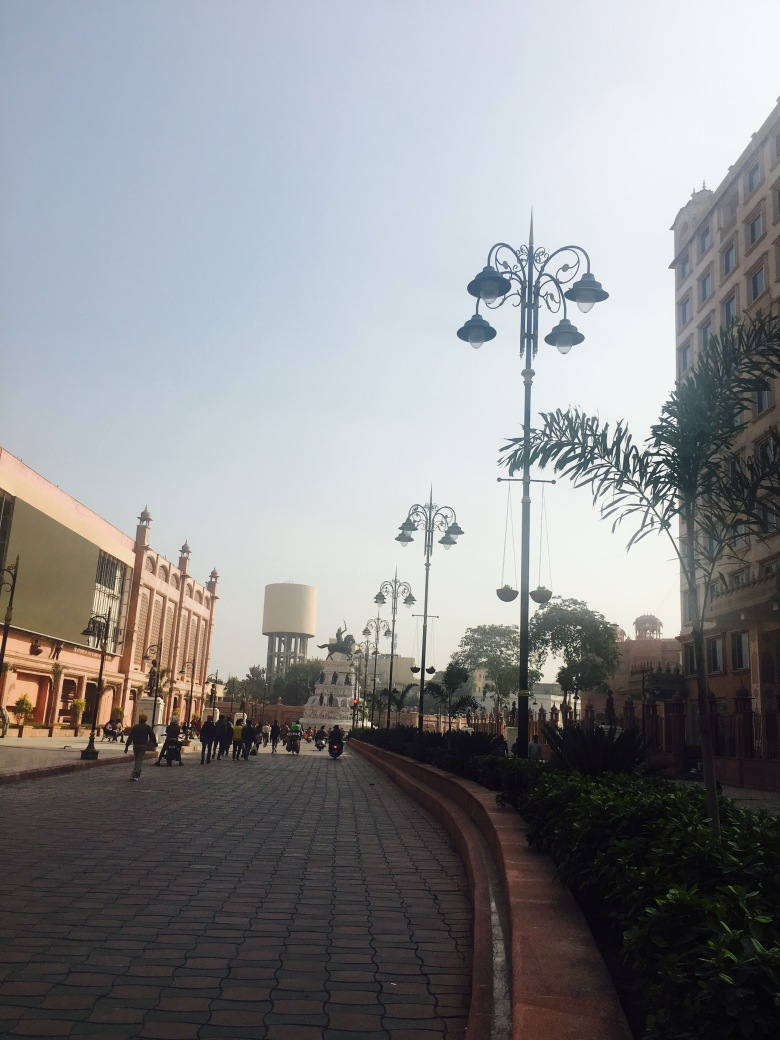The Golden Temple road