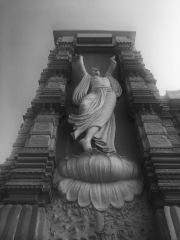 A huge sculpture