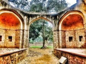 Somewhere in Humayun Tomb