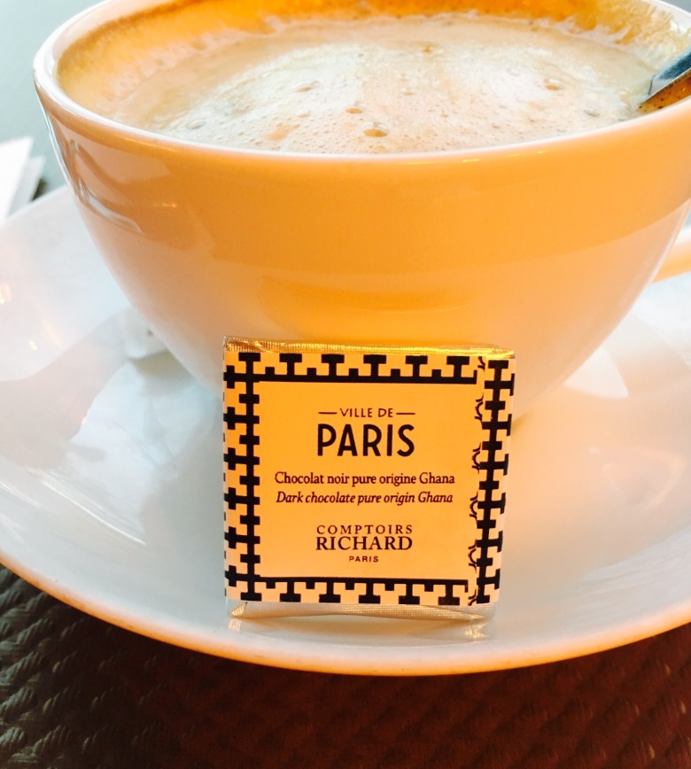 coffee in Paris cafe
