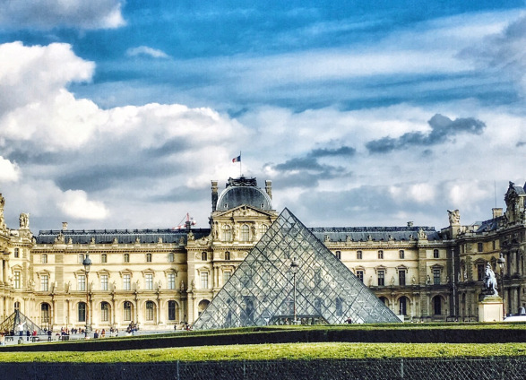 louvre museum  paris, francw