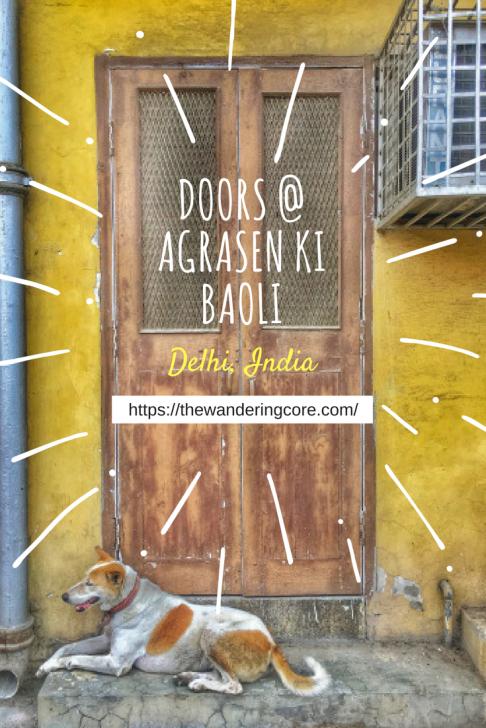Doors @ agrasen ki baoli1