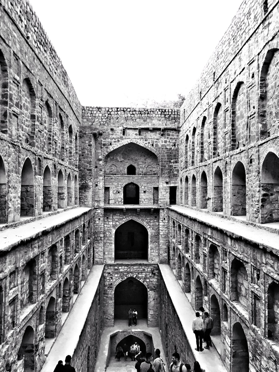 Fun facts about Agrasen ki Baoli, Delhi, India