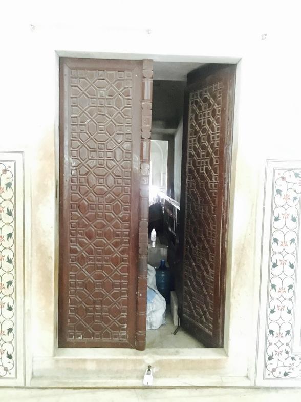 door at Taj