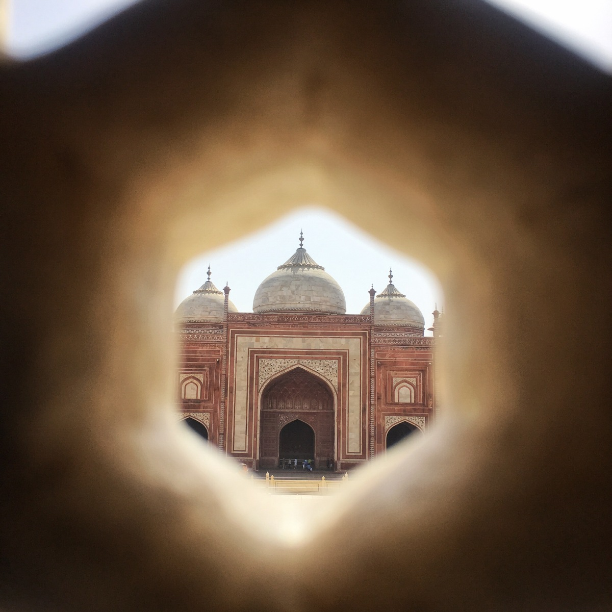 View from Taj Mahal