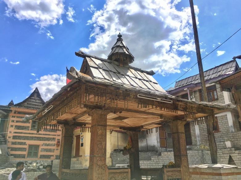 A temple on way to kamru fort, sangla India