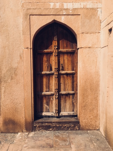 Safdar Jang Tomb - A door