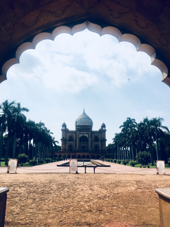 Safdar Jang Tomb - View from entry