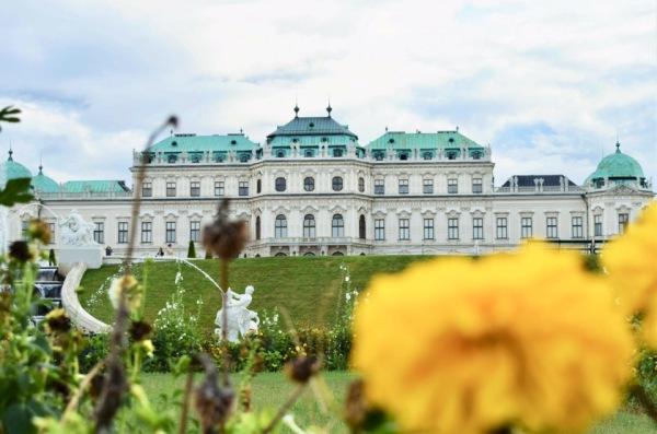 Belvedere Palace-Gardens-Vienna-Austria