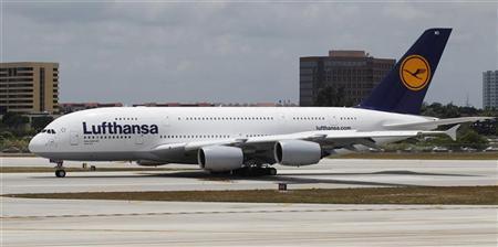 Lufthansa ends biofuel trial with U.S. flight