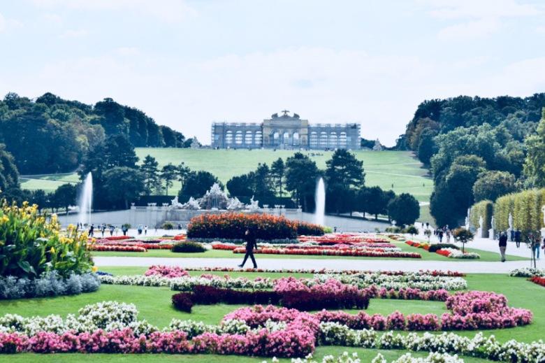 Schonbrunn Palace - Gloriette - Vienna-Austria