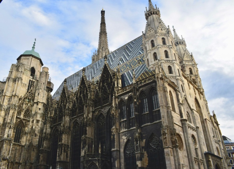 St Stephans Cathedral Exteriors-Vienna-Austria