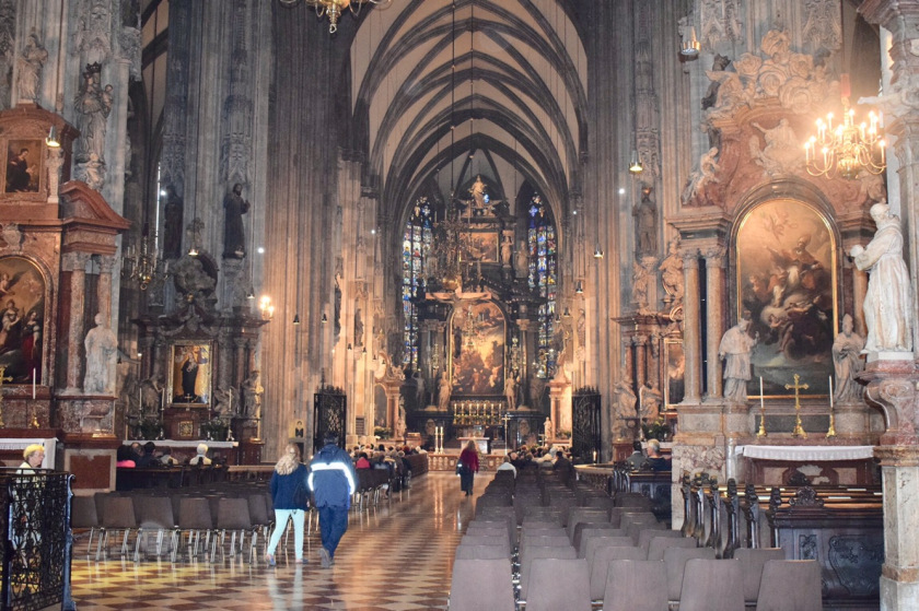 St Stephans Cathedral Interiors-Vienna-Austria