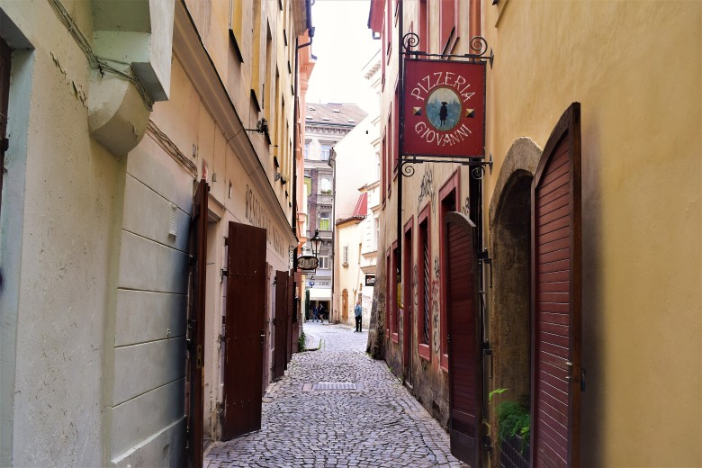 Prague - Narrow lane