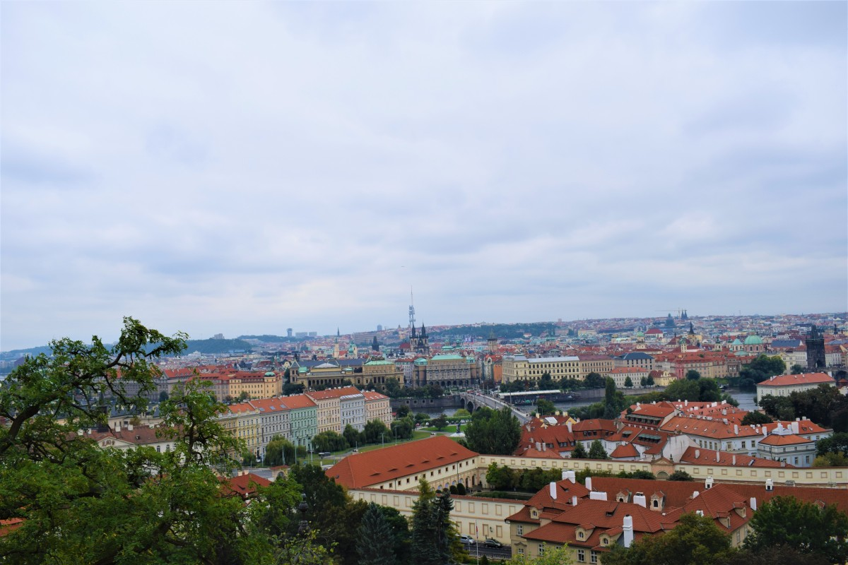 Fall in love with colorful Prague, Czech Republic