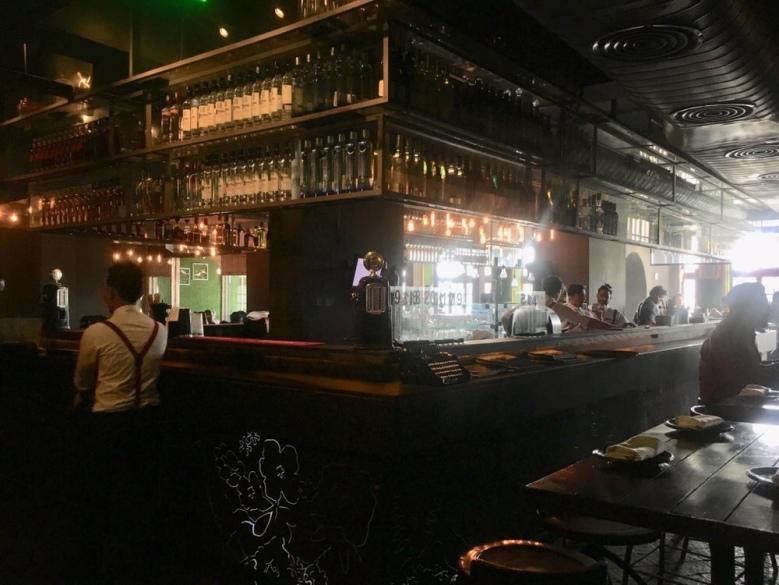The Bar at Farzi Cafe