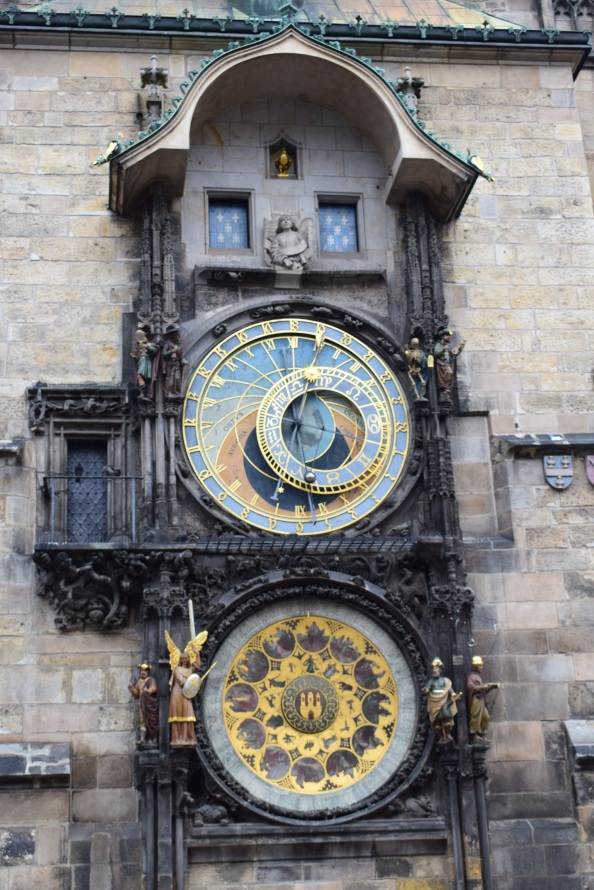 Prague - Astronomical clock - close up